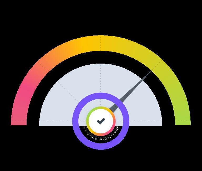 A speed test meter